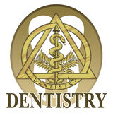 Dentistry Symbol Design Royalty Free Stock Photo