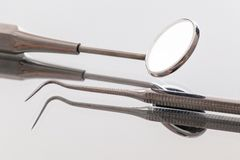 Dentists' instruments Royalty Free Stock Photography