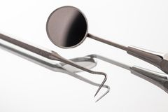 Dentists' instruments Stock Image