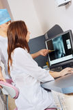 Dentists for a job Stock Photography
