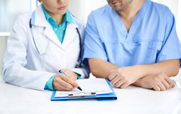 Dentists meeting Royalty Free Stock Images