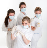 Dentists team Stock Photography