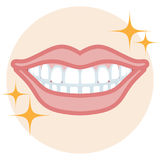Dentition - bonne condition Photo stock