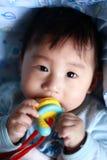 Dentizione del bambino Immagine Stock Libera da Diritti
