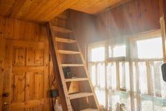 Dentro da casa de campo Foto de Stock