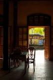 Dentro da casa do jardim em Hue Imperial Palace fotos de stock royalty free