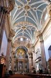 Dentro da catedral de Lagos de Moreno Foto de Stock Royalty Free