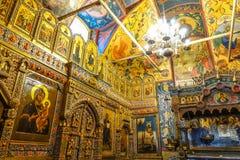 005 - Dentro da catedral da manjericão do St fotos de stock royalty free