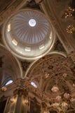 Dentro da catedral, Pontremoli, Itália Fotografia de Stock