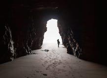 Dentro da caverna. fotografia de stock royalty free