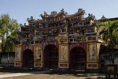 Dentro da citadela A Cidade Proibida imperial hue Foto de Stock Royalty Free