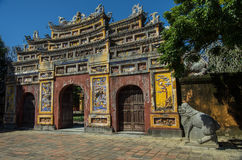 Dentro da citadela A Cidade Proibida imperial hue Imagem de Stock Royalty Free