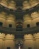 Dentro da construção do capitol do estado de Texas fotografia de stock