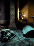 Dentro da cripta Imagens de Stock