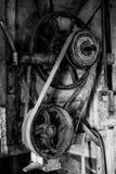 Dentro da escada rolante do vento Imagem de Stock