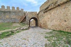 Dentro da fortaleza de Akkerman no belgorod, Odessa, Ucrânia Imagens de Stock Royalty Free