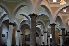 Dentro da igreja Imagem de Stock Royalty Free