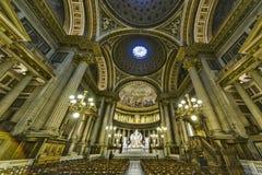 Dentro da igreja de Madeleine Fotografia de Stock Royalty Free
