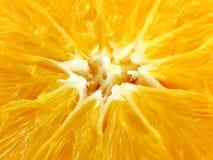 Dentro da laranja Fotografia de Stock