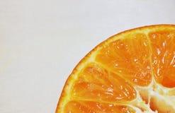 Dentro da laranja Imagem de Stock