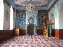 Dentro da mesquita de Botanikuri em Tbilisis Imagens de Stock Royalty Free