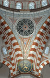 Dentro da mesquita, Istambul imagem de stock royalty free