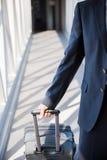 Dentro da ponte do embarque do passageiro Imagem de Stock Royalty Free