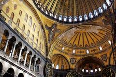 Dentro de basílica del St. Sophia Fotos de archivo