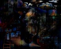Dentro de conciencia Imagen de archivo