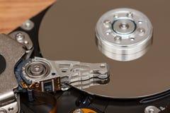 Dentro de disco duro Imagenes de archivo