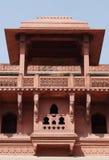 Dentro de Jhangir Palace, forte de Agra foto de stock