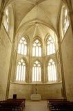 Dentro de la abadía cisterciense de Cañas, La Rioja, Imagen de archivo