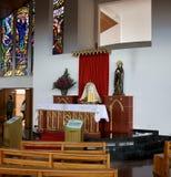 Dentro de la basílica del Senor de Monserrate Fotos de archivo libres de regalías
