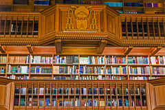 Dentro de la biblioteca de la universidad de Lovaina, Bélgica 5 Fotografía de archivo