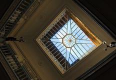 Dentro de la casa de sirenas, Casa de las Sirenas, Alameda de Hércules, Sevilla, España Fotos de archivo