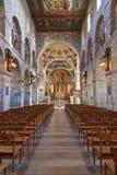 Dentro de la catedral Imágenes de archivo libres de regalías