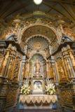Dentro de la catedral en la plaza de Armas en Lima, Perú Fotos de archivo libres de regalías