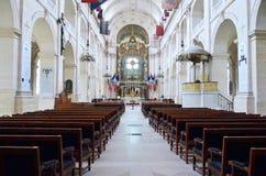 Dentro de la catedral Santo-Louis-DES-Invalides Imagenes de archivo