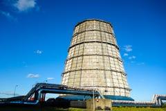 Dentro de la central eléctrica Fotografía de archivo libre de regalías