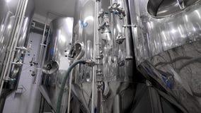 Dentro de la cervecería del arte del moder almacen de video