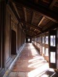 Dentro de la ciudad imperial es la capital anterior de Vietnam Tra imagen de archivo libre de regalías