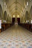 Dentro de la iglesia Fotografía de archivo