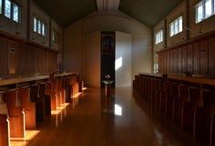 Dentro de la iglesia Foto de archivo libre de regalías