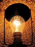 Dentro de la lámpara eléctrica Foto de archivo libre de regalías