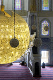 Dentro de la mezquita de Kocatepe en Ankara Turquía foto de archivo libre de regalías