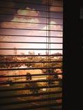 Dentro de la mirada hacia fuera imagenes de archivo