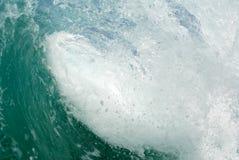 Dentro de la onda del embarrilamiento fotografía de archivo libre de regalías