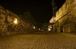 Dentro de las paredes de Buda Castle Fotografía de archivo libre de regalías