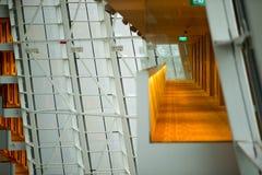 Dentro de las torres - Singapur Imagen de archivo libre de regalías
