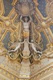 Dentro de Louvre, París Fotografía de archivo libre de regalías